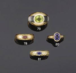A Tanzanite single stone ring