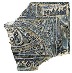 A NISHAPUR GREY SCHIST FRAGMEN