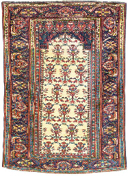 A SAROUK RUG OF TURKISH DESIGN