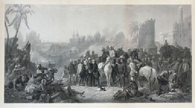 The relief of Lucknow and triu