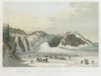 The Ice Cone at the Falls of M