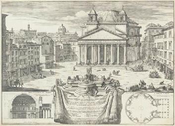 Piazza e tempio di Santa Maria