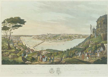 View of the City of Oporto, by