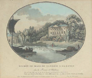 View of Richmond Bridge; A vie