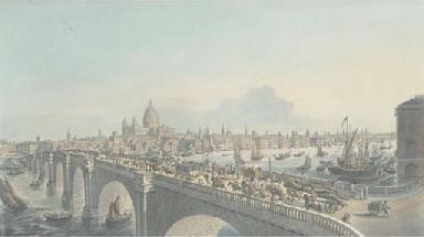 Vûe de la Ville de Londres, by