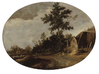 A wooded landscape with a spor