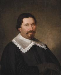 Portrait of a gentleman, aged