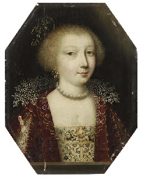 Portrait of a young lady, smal
