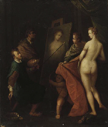An Allegory of the Arts: the i