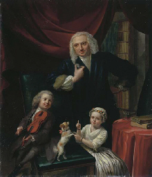 Portrait of a family, small, f