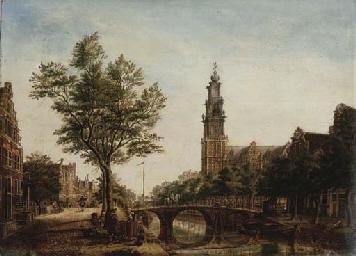 The Westerkerk, Amsterdam, see