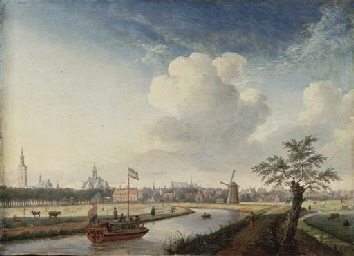 A cappricio view of The Hague,