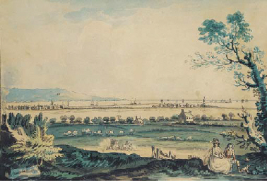 A view of Ringsend from Merrio