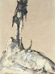 The Dead Basking Shark, Achill