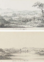 An album of eight views of Cur