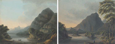 Two views of the Eagle's Nest,