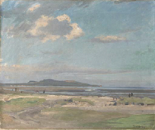 Howth from Bull Island