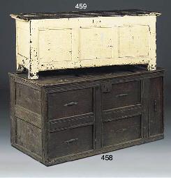 An English pine chest
