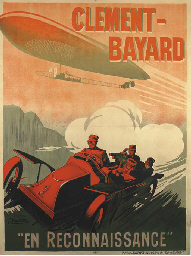 CLEMENT-BAYARD, EN RECONNAISSA