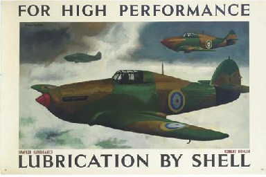 FOR HIGH PERFORMANCE, HAWKER H