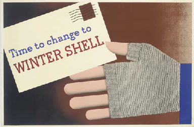 TIME TO CHANGE TO WINTER SHELL