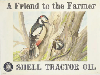 THE ROBIN, SHELL TRACTOR OIL