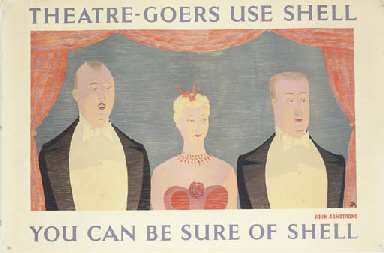 THEATRE-GOERS USE SHELL
