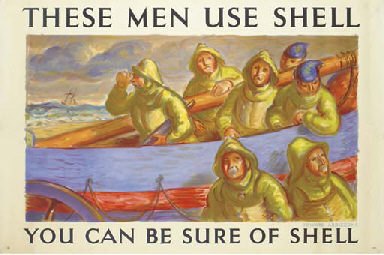 THESE MEN USE SHELL, LIFEBOATM