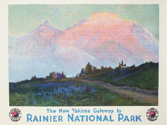 RAINIER NATIONAL PARK, NORTHER