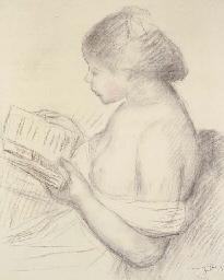 La liseuse (Portrait de fillet