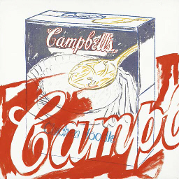 Campbell's Chicken Soup Box