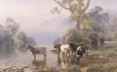 On the Buffalo River, Victoria