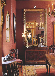 A GEORGE IV LACQUERED BRASS TW