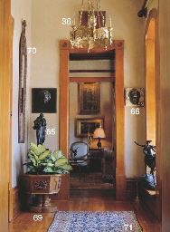 A PAIR OF WALL MIRRORS