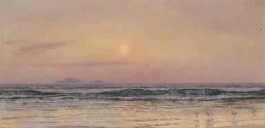 Sunset, Low Tide