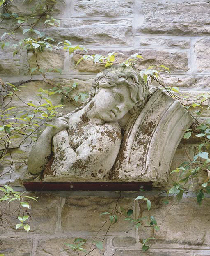 A VICTORIAN CARVED STONE RELIE