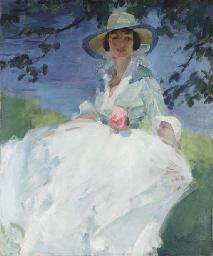 Portrait of Elizabeth Chapman