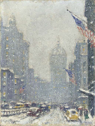 Park Avenue, Winter