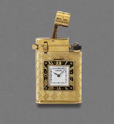 Cartier. An unusual 18K gold a