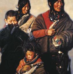 Relatives, Tibet