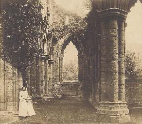 Tintern Abbey, c.1854