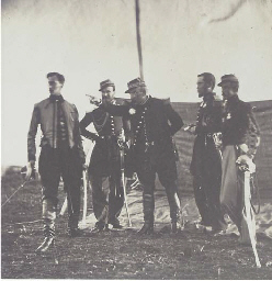 General Bosquet and Staff, 185
