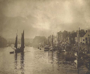 Whitby Harbour, 1880