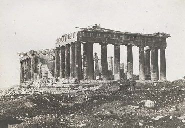 The Parthenon from l'Acropole