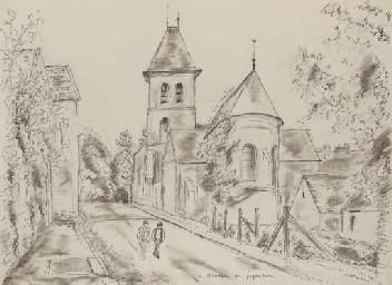 L'église de Davron, deux perso