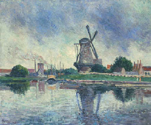 Moulin en Hollande