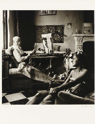 Matisse dans son atelier, Nice