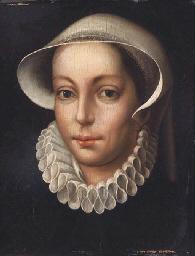 Portrait de femme à la collere