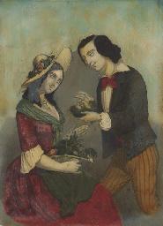 Un homme et une femme découvra