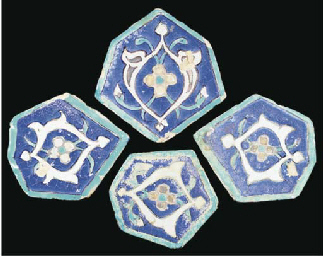 Fout Timurid pottery cuerda se